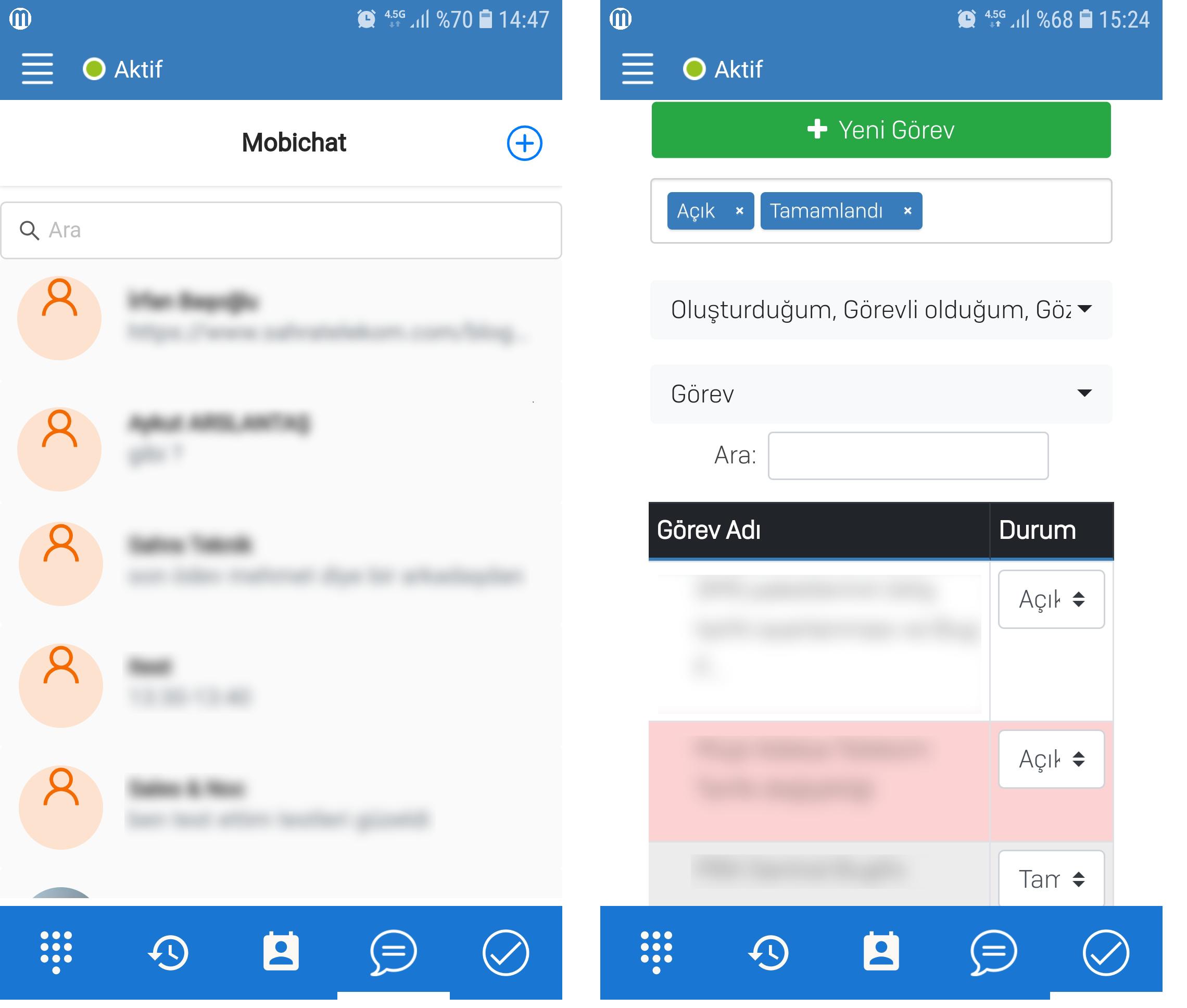 MobiKoB Mobil Uygulamada Artık Chat, Görev Yönetimi ve Konum Bilgisi de Var!