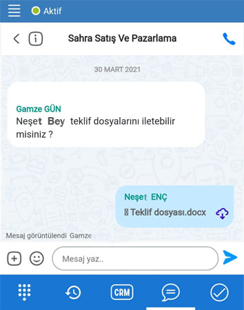 mobikob mobilde mesajlasma - MobiKoB Mobil Uygulama